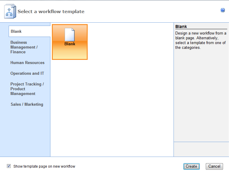 Please note templates shown may differ from those available for Sharepoint workflow templates download